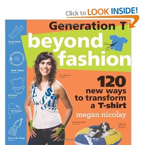 Book on how to reuse tshirts