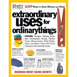 book about extraordinary uses for ordinary items